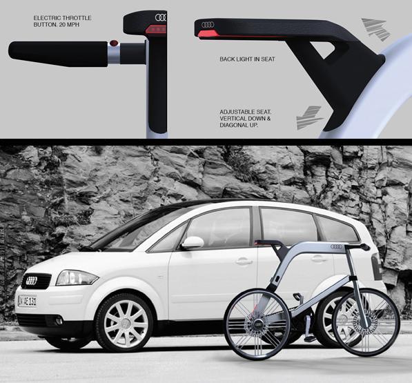 Audi Electric Bike For the Future Urban Consumer 5