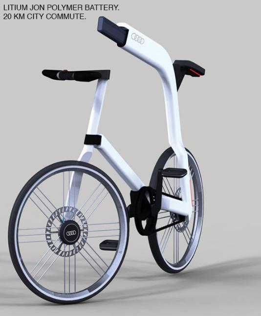 Audi Electric Bike For the Future Urban Consumer 6