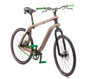 Benobon: Eco-friendly Bent Plywood Bike