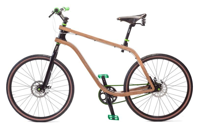 Benobon, Eco friendly Bent Plywood Bike 1