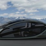 Peugeot Metromorph Futuristic Car Concept Work as an Elevator, or A Balcony_3