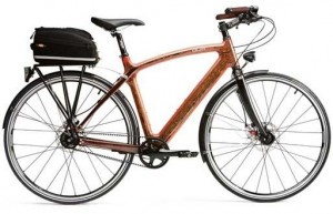 Renovo and Audi Handmade Wooden Bicycles
