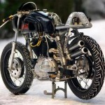 The Brothers Bjorklund Create Amazing Hot Bike Made from Junk, 1966 Harley Davidson_2