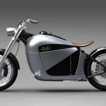 Cool and Classic Electric Motorcycle