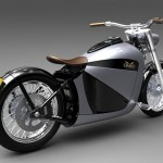Cool and Classic Electric Motorcycle_1