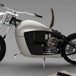 Cool and Classic Electric Motorcycle_2