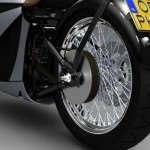 Cool and Classic Electric Motorcycle_4