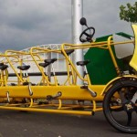 Eco-friendly and Fun Pedal-powered School Bus