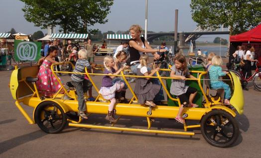 Eco friendly and Fun Pedal powered School Bus 1