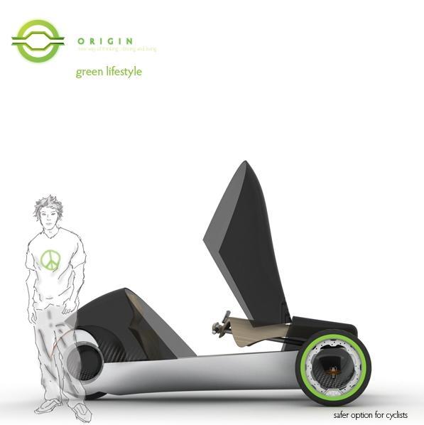 ORIGIN, Zero Emission Concept Vehicle 1