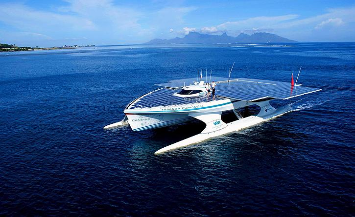 PlanetSolar Catamaran: World Biggest Solar powered Boat