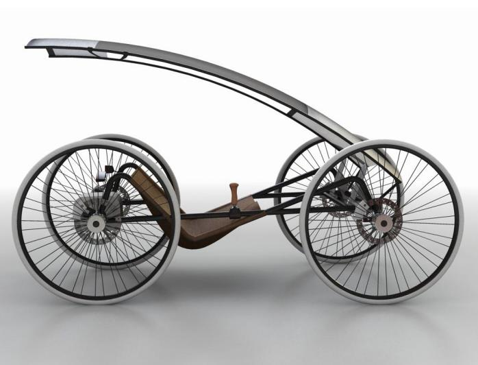 Potenza Concept Vehicle Stores Kinetic Energy 1