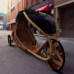 The Ajiro Bamboo Bike - Naturally grown urban personal mobility