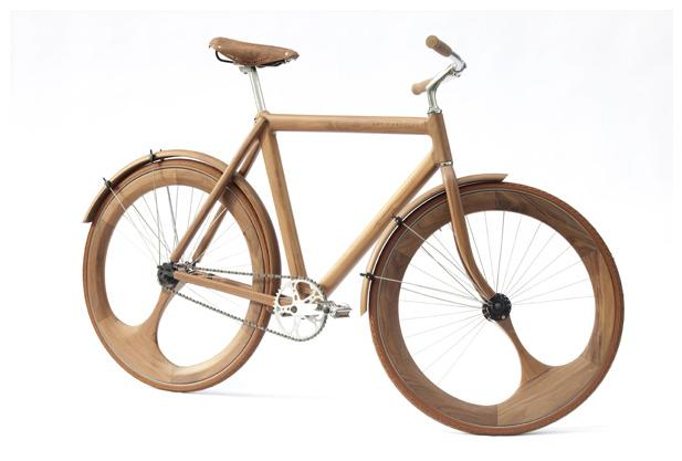 Jan Gunnewegs Wooden Bicycle