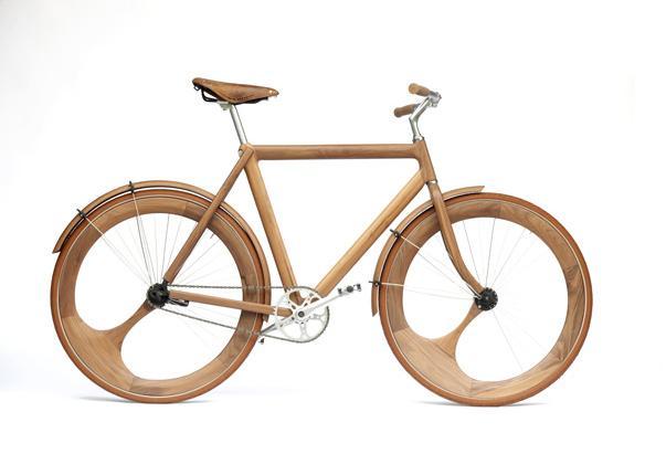 Jan Gunnewegs Wooden Bicycle 1