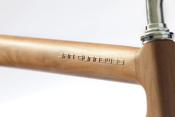 Jan Gunnewegs Wooden Bicycle 2