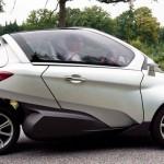 Peugeot Citroen Futuristic VELV Electric Concept Car