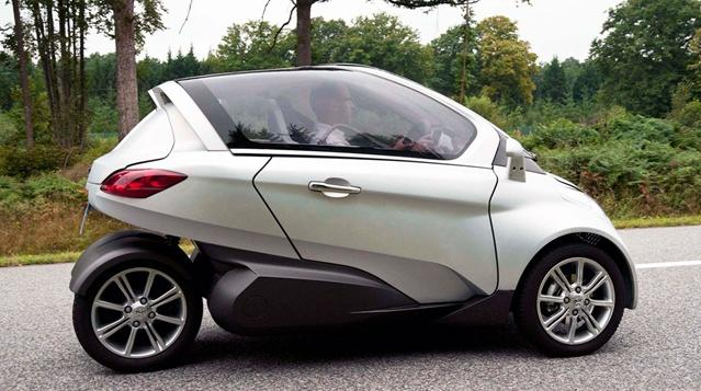Peugeot Citroen Futuristic VELV Electric Concept Car 3