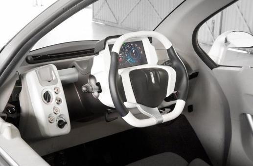 Peugeot Citroen Futuristic VELV Electric Concept Car 4