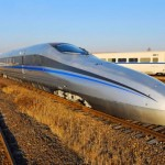 China Superfast Bullet Train