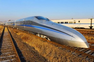 China Superfast Bullet Train