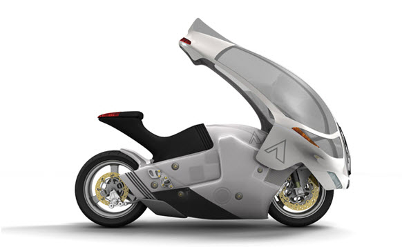 The Crossbow, An Extreme All Weather Electric Motorbike 1