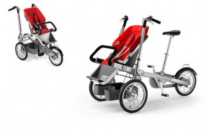 The Taga: An Ultimate Alternative to Bike Trailer and Child Bike Seat