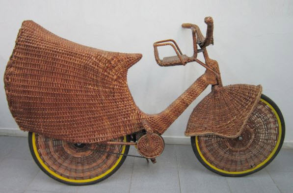 Woven Fiber Bicycle
