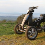 Sway Tilting Three-wheel e-scooter Prototype