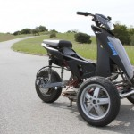 Sway Tilting Three-wheel e-scooter Prototype_1