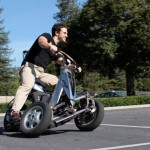 Sway Tilting Three-wheel e-scooter Prototype_5