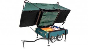 The Midget Bushtrekka Mini-Camper Designed for Bikers