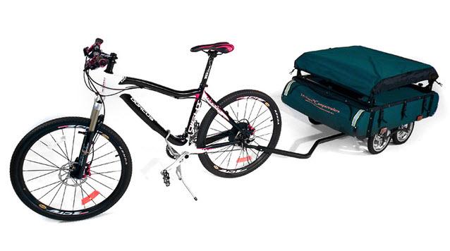 The Midget Bushtrekka Mini Camper Designed for Bikers 1