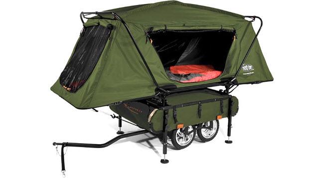 The Midget Bushtrekka Mini Camper Designed for Bikers 2