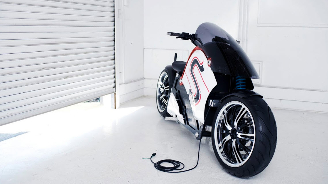 zecOO, Electric Low rider Motorcycle 3