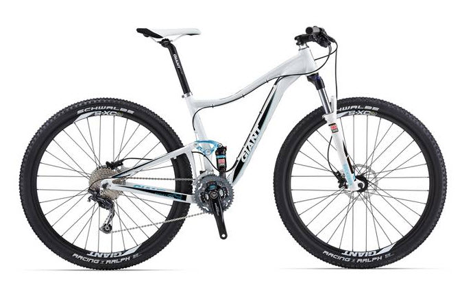 2013 Giant Anthem X Advanced 29er and Anthem X 29er W