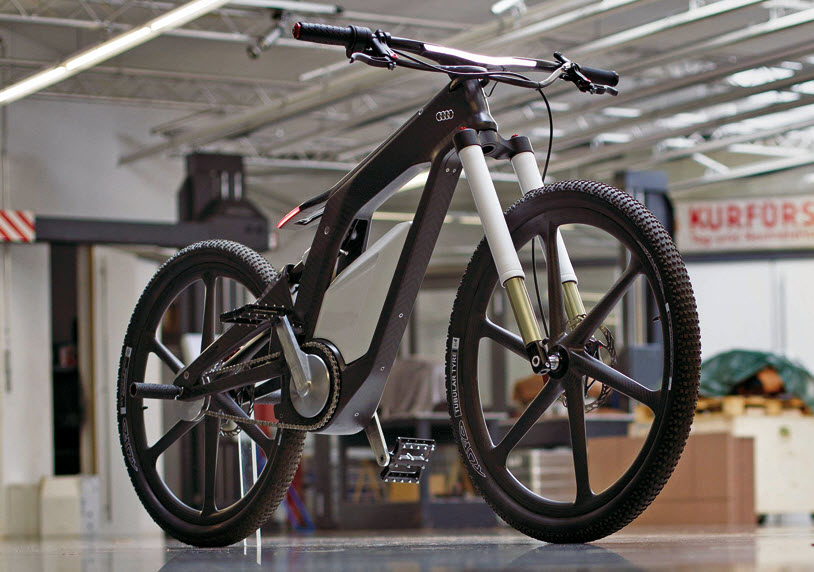 Audi New e bike Worthersee Concept
