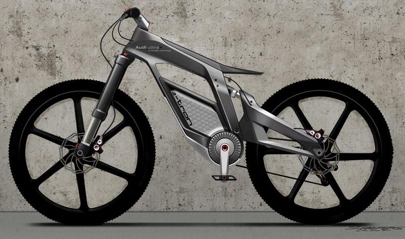 Audi New e bike Worthersee Concept 1