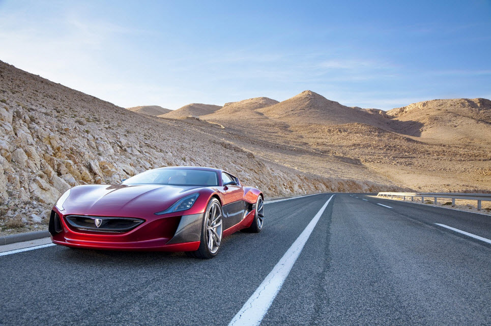 Rimac Concept One Electric Hypercar 6