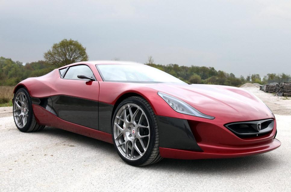 Rimac Concept One Electric Hypercar 15