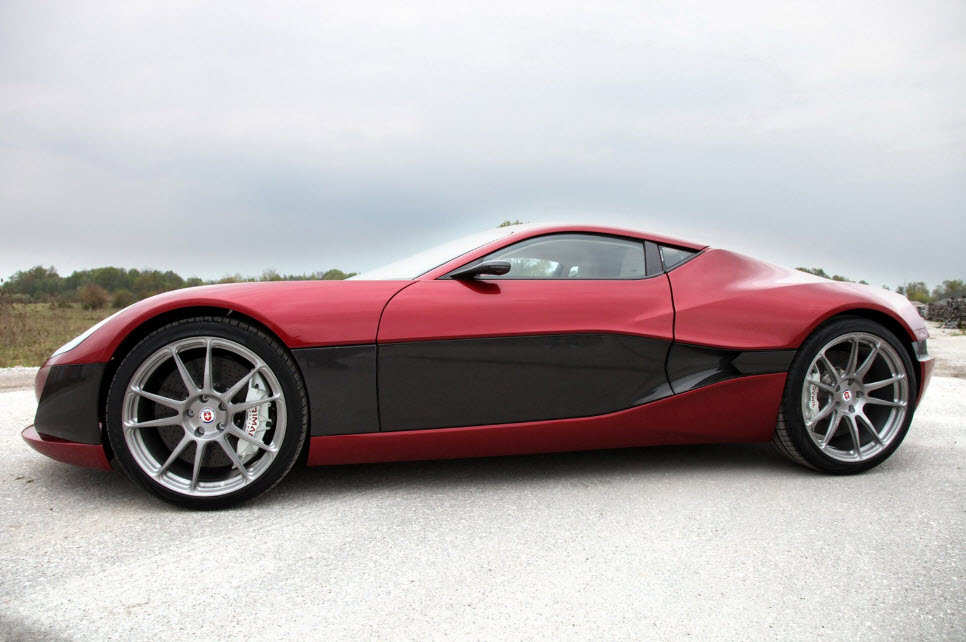 Rimac Concept One Electric Hypercar 17