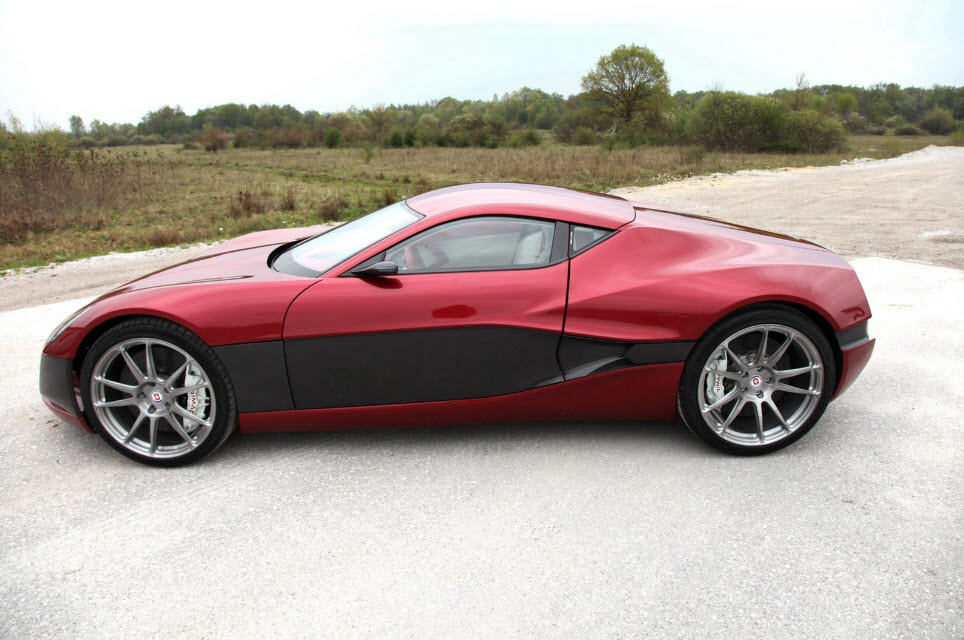 Rimac Concept One Electric Hypercar 20