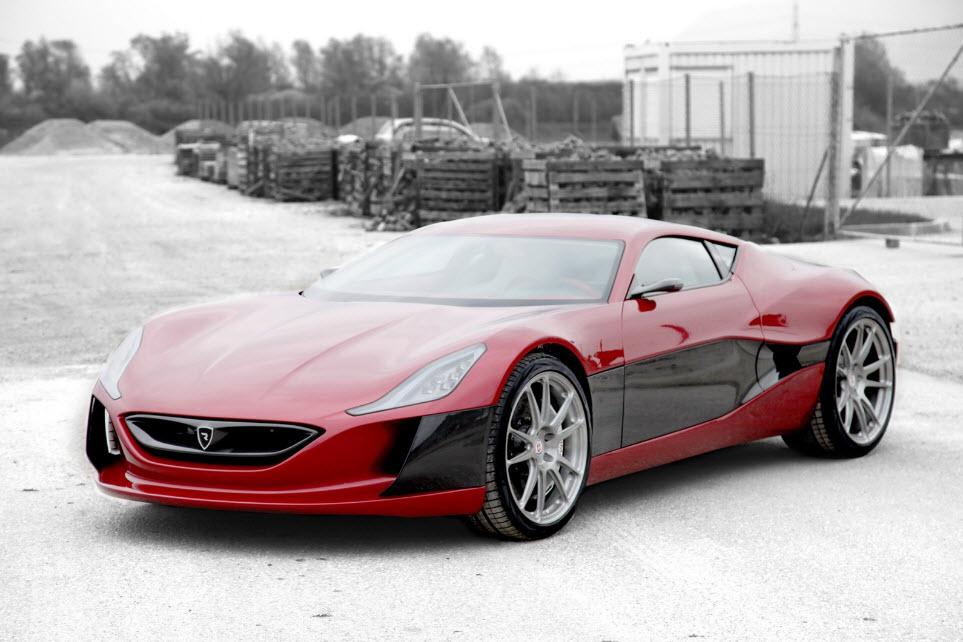 Rimac Concept One Electric Hypercar 22