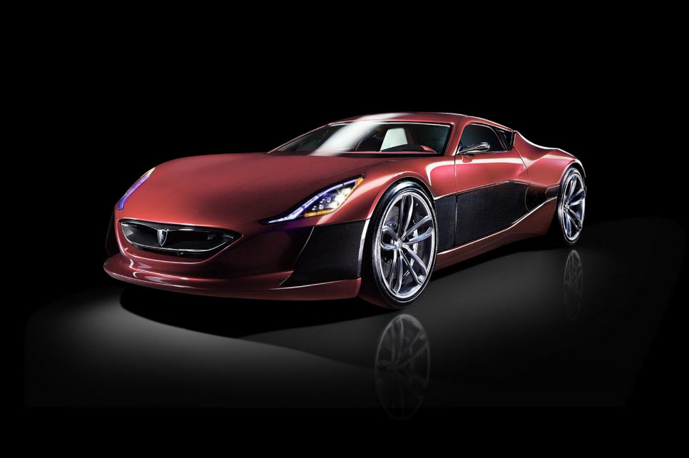 Rimac Concept One Electric Hypercar 23