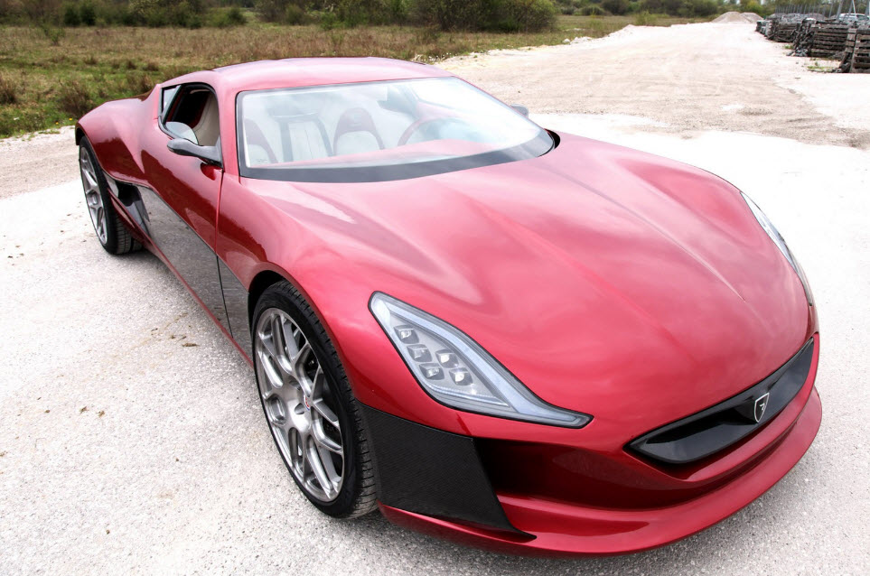 Rimac Concept One Electric Hypercar 13