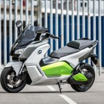 BMW C Evolution Electric Scooter Prototype