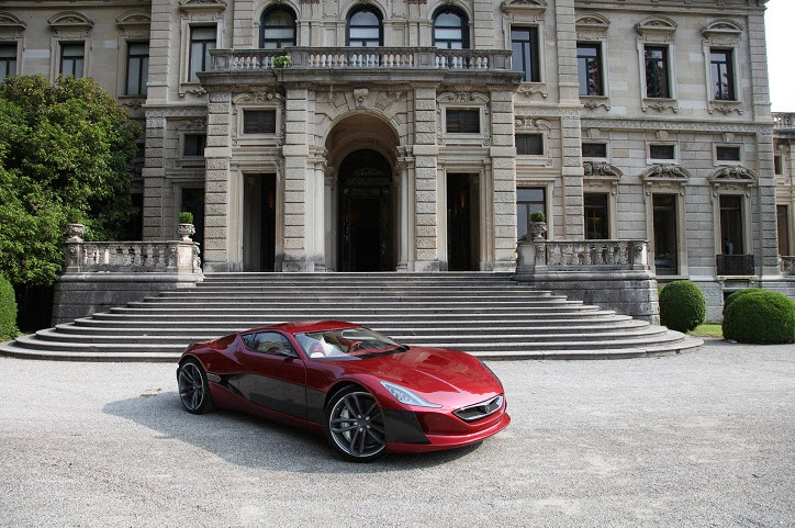 Rimac Concept One Electric Hypercar 3