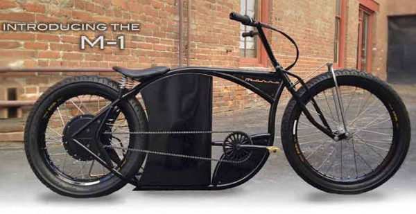 Marrs Cycles M-1 Electric Bike Looks Like a Harley ChopperMarrs Cycles M-1 Electric Bike Looks Like a Harley Chopper
