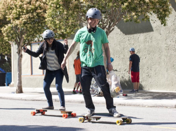 Boosted Boards,The World's Lightest Electric Vehicle_4