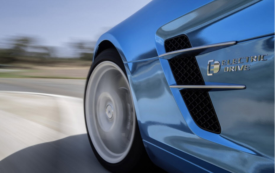 2014 Mercedes Benz HOT All Electric SLS AMG Coupe 1
